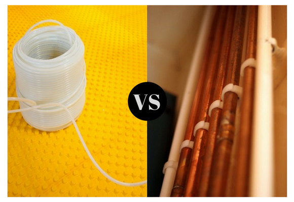 Is pex pipes better than copper pipes pipeline restoration for Pex pipe vs copper